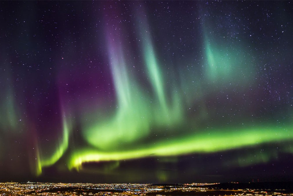 Northern Lights for a magical Winter honeymoon