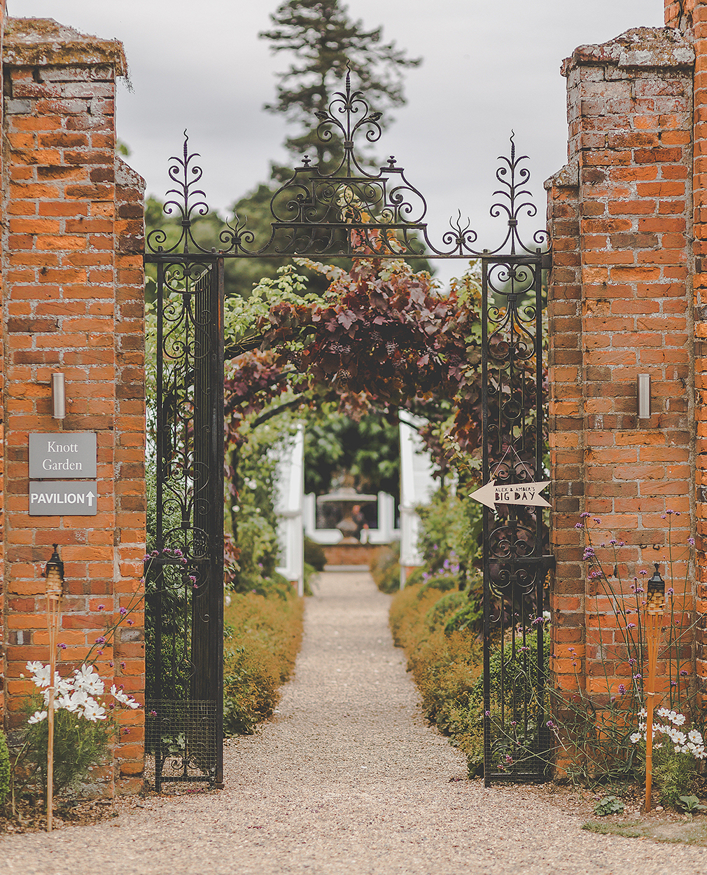 Stroll through the beautiful gardens and grounds at one of the finest wedding venues in Essex