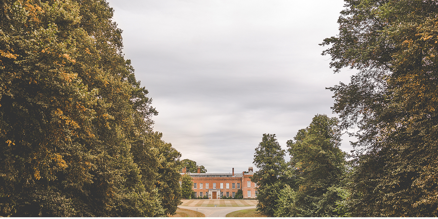 Braxted Park's Georgian house provides a stunning setting for your Essex wedding