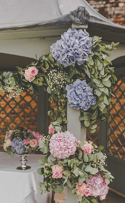 Pink and purple flowers look gorgeous for a country wedding – wedding ideas