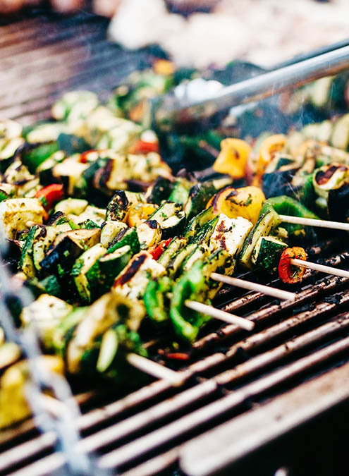 A tasty summer barbecue will keep you and your guests satisfied as you party into the evening