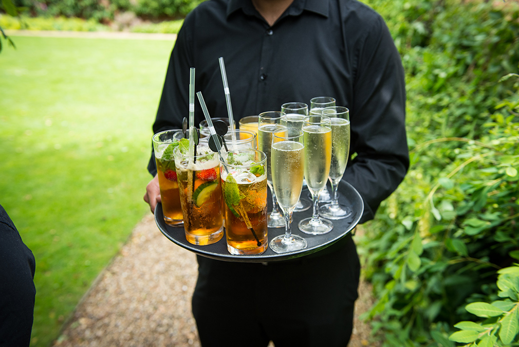 Make sure the guests stay hydrated with summer wedding drinks