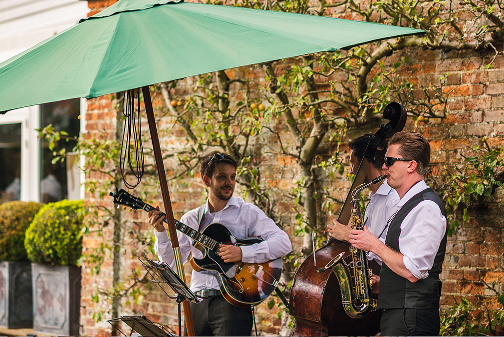 For an intimate wedding at Braxted Park choose a wedding band that is personal to you