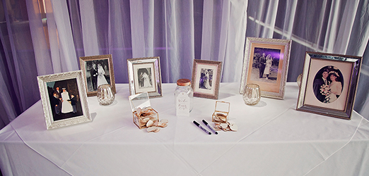 Wedding picture frame in Braxted Park Wedding Venues