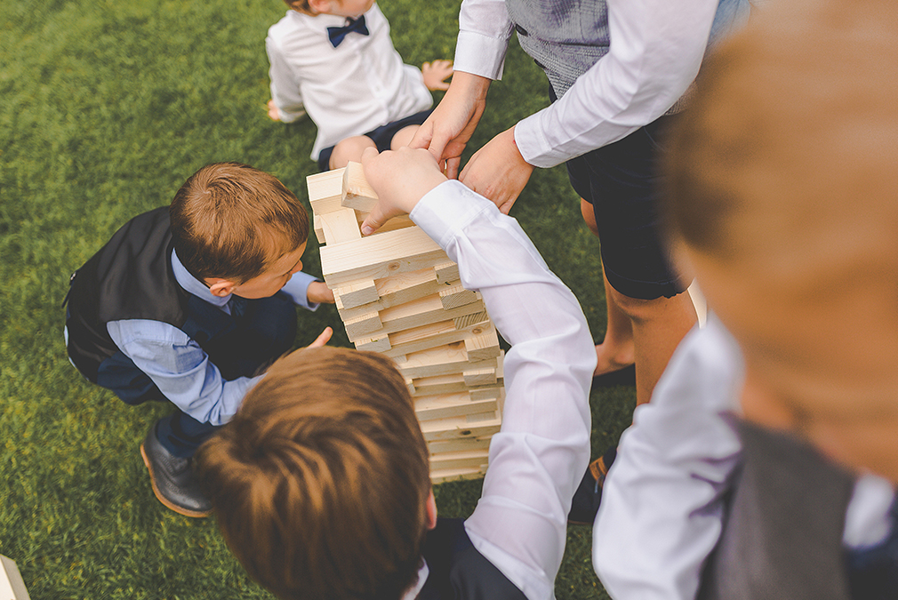Make the most of the gardens at Braxted Park during your spring wedding reception by arranging some lawn games such as giant Jenga