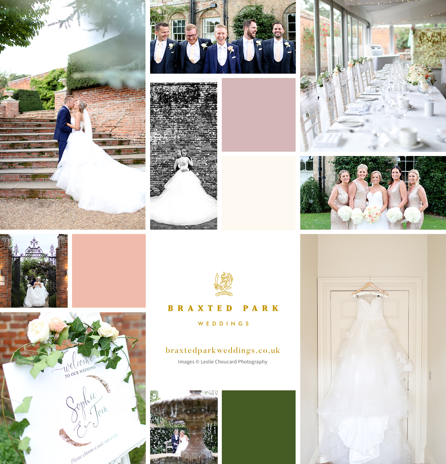 Sophie and Tom's Elegant August Celebration – Braxted Park