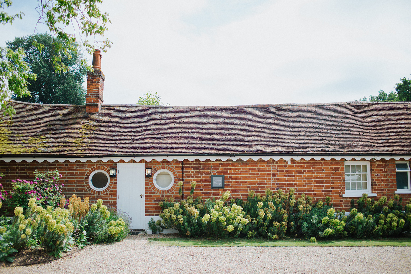Converted stables create the perfect on site guest accommodation at Braxted Park wedding venue in Essex