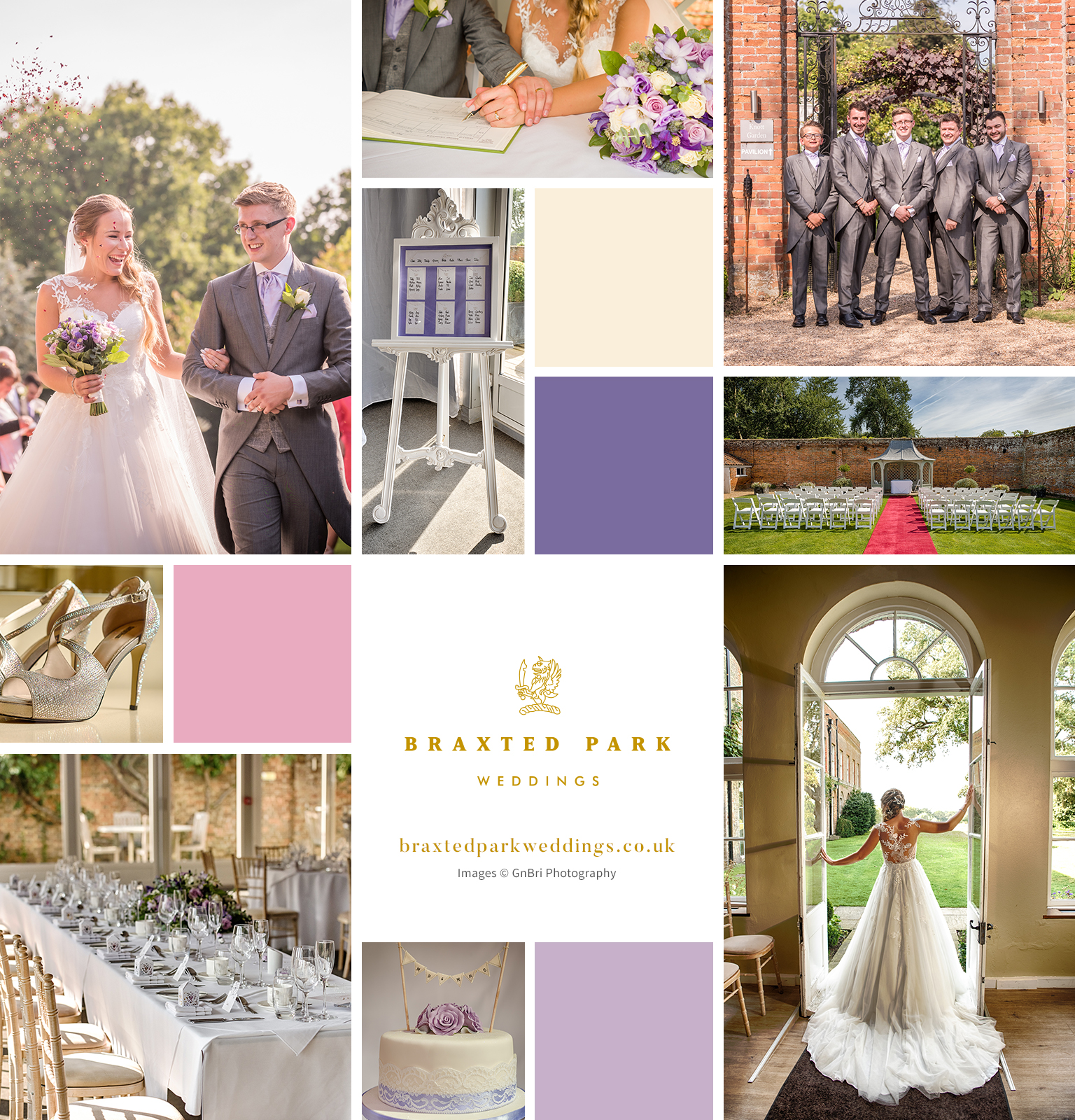 Hannah and Adam's Classic August Wedding – Braxted Park
