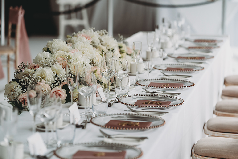 Styling Your Wedding Reception – Braxted Park