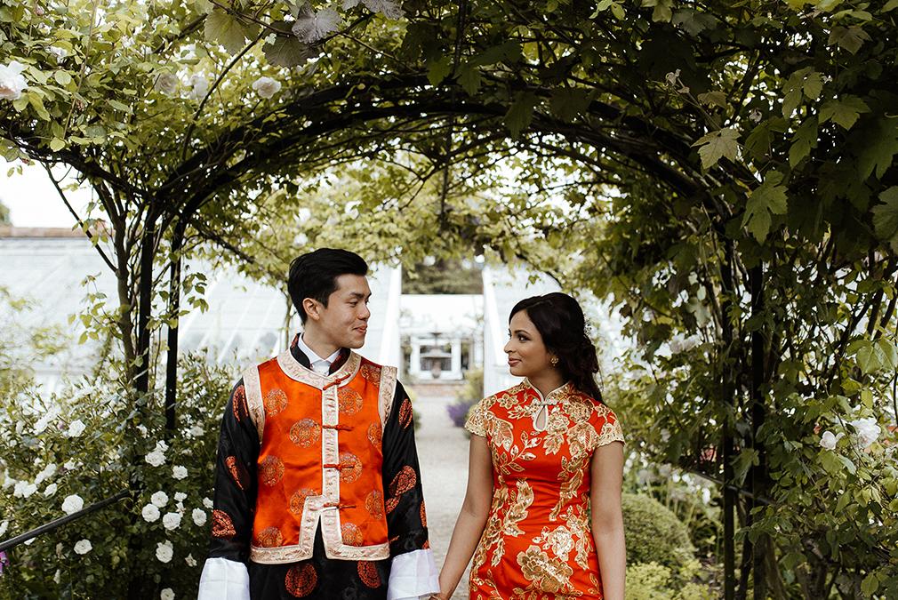 Nina and Michael's Cultural Summer Wedding – Braxted Park